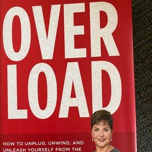 New Over Load Hardcover Book, Author Joyce Meyers